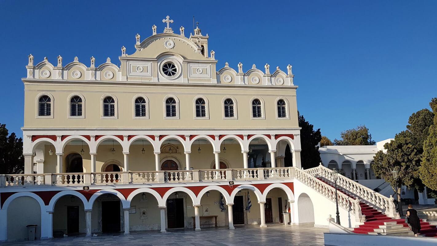Tinos -Kirche der Panagia Evangelistria