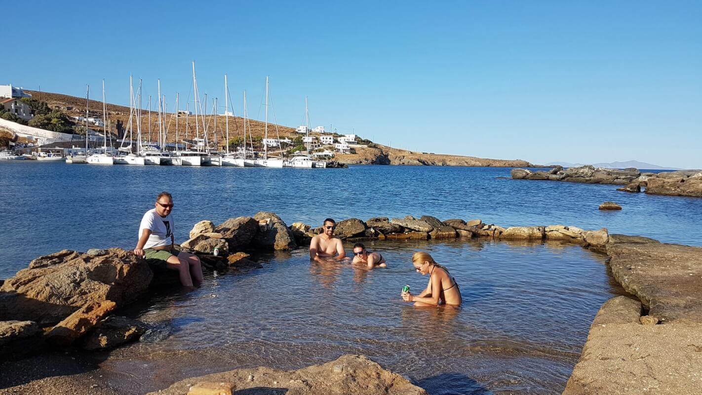 Kythnos -Warmquelle Loutra