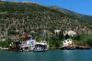 Lefkas -Hafenbucht Vlychon
