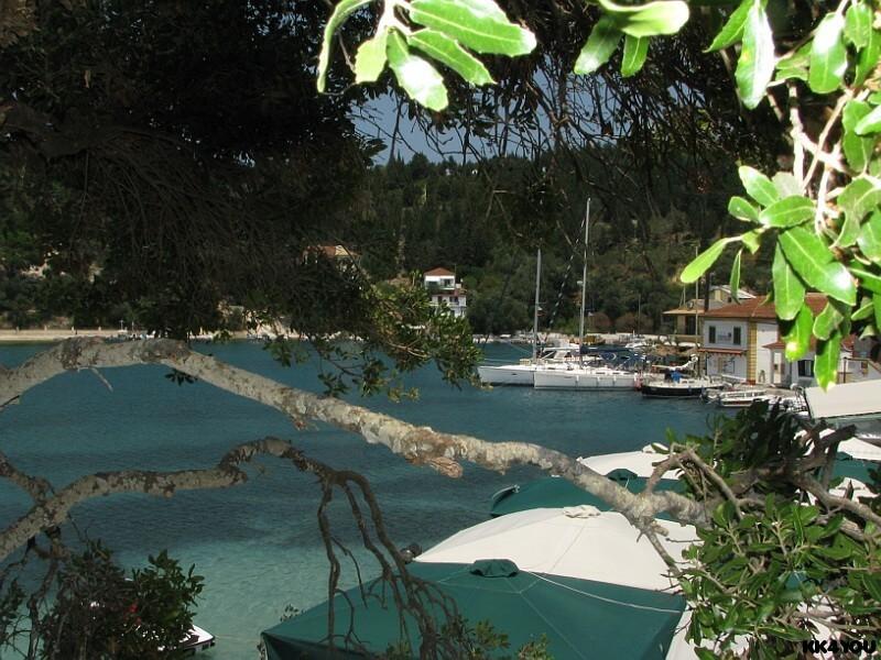 Paxos -Hafen Lakka