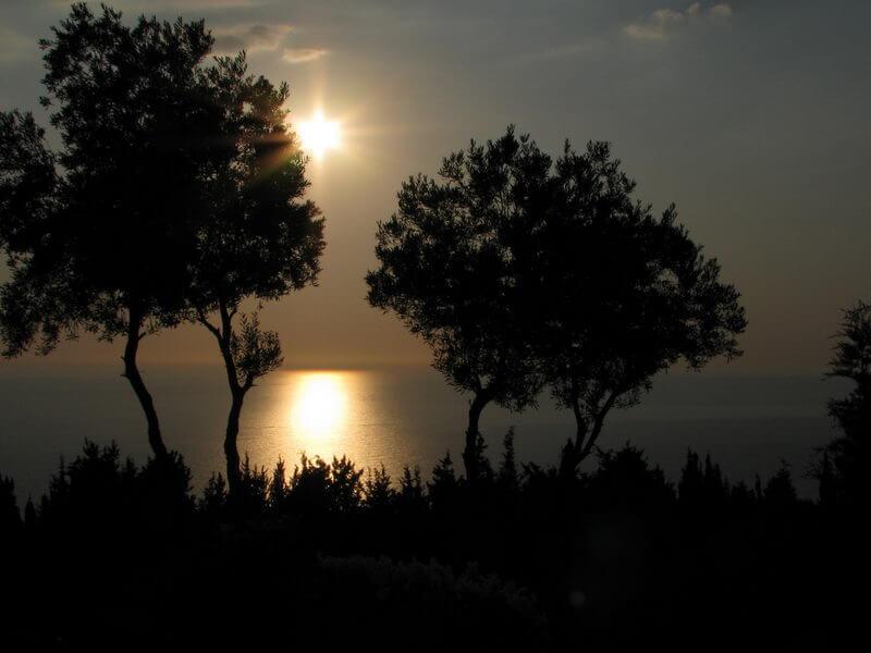 Sonnenuntergang Sunset Bar Erimitis