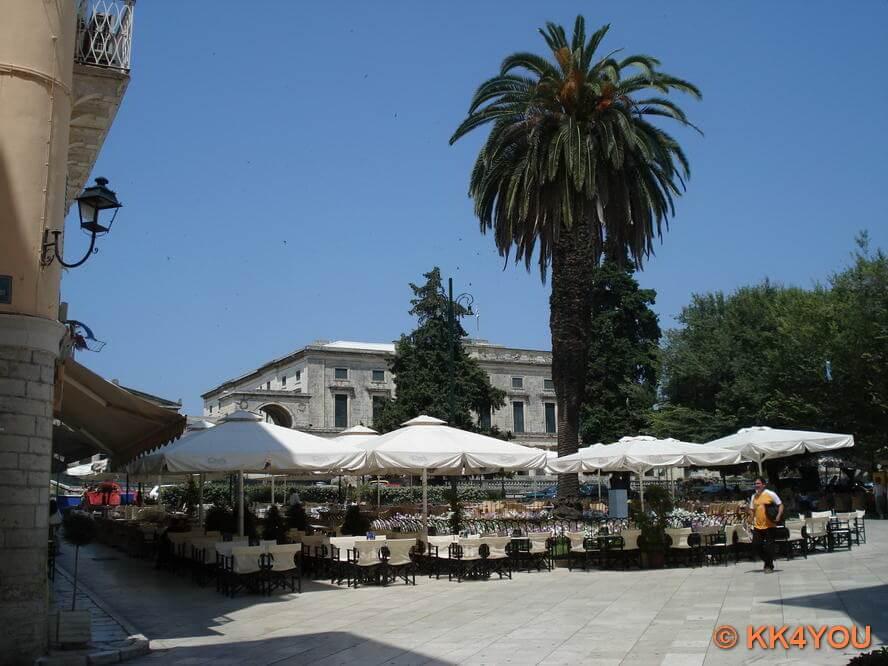 Korfu Stadt -Esplanade