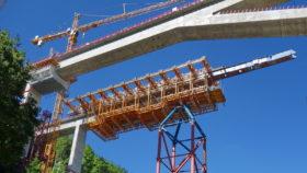 Baustelle Filstalbrücke