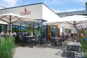 Sportpark Rems Biergarten Platz Hirsch